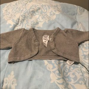 Baby girl special occasion half sweater
